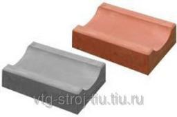 ВОДОСТОК бетонный 350х160х60 (оранжевая)