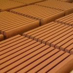 Бордюрные камни купить1000х200х80 вибропрессвоанная (оранжевая)