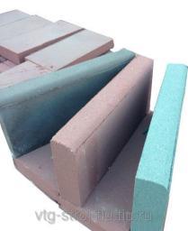 Бордюрные камни купить вибропрессованная 450х200х60 (зеленая)
