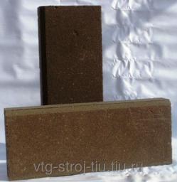Бордюры тротуарные москва 450х200х60 вибропрессованная (коричневая)