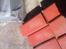 Бордюр для сада 500х200х40 вибролитые (красная)