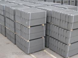 Купить бордюрный камень 1000х300х150 вибропрессованные