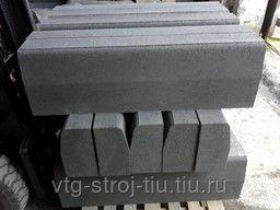Бордюрный камень от производителя Москва 100х30х15 вибропрессованные