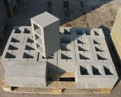 Блок бетонные для строительства москва 400х200х200 (пустотелые)