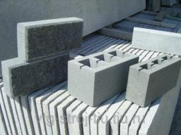Блоки для бытовки 400х200х200 (пустотные)