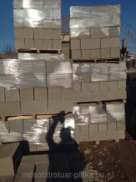 Строительные блоки пескоблоки 40х20х20 (полнотелые)
