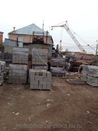 Блоки бетонные полнотелые 40х20х20