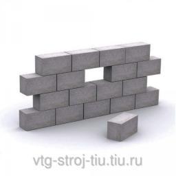 Блоки бетонные для фундамента 400х200х200 (полнотелые)