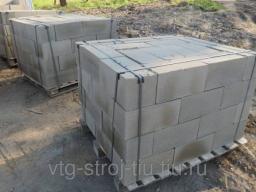 Фундаментные блоки московская область 40х20х20 (полнотелые)