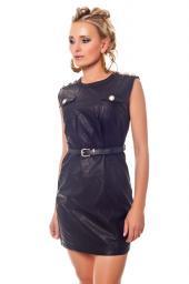 Эксклюзивные кожаные платья от ведущих Европейских модельеров из Германии оптом и в розницу по самым низким ценам !!!