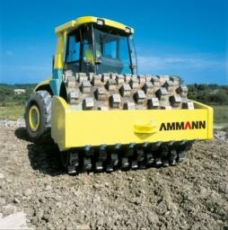 Услуги грунтового кулачкового катка 16 тонн