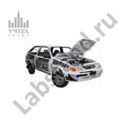 Учебный cтенд легкового автомобиля ВАЗ-2113 (хетчбек)