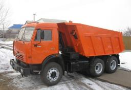 Услуги самосвалов КАМАЗ в Новосибирске