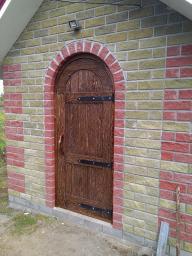 Двери из массива сосны под старину