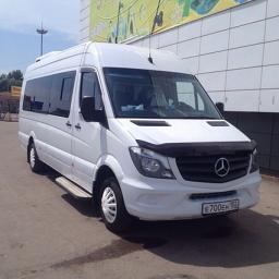 Заказ / аренда автобуса и микроавтобуса в Уфе. Mersedes Sprinter LUX