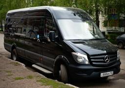 Заказ / аренда автобуса и микроавтобуса в Уфе. Аренда Mersedes Sprinter LUX