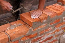 Кладка стен из сибита 100мм