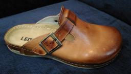 Сабо мужские LEON 707,коричневые