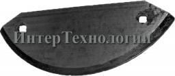 Нож для кормосмесителя Delaval Optimix полулунный (пр-во Германия)
