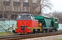АКЦИЯ - Маневровый односекционный тепловоз ТГМ - 40.