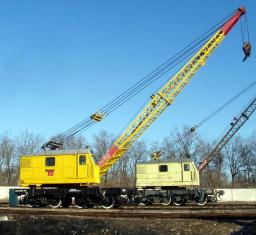 Акция - Железнодорожный дизель-электрический кран КЖДЭ-16, КДЭ-25