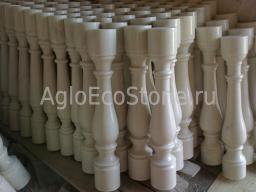 Изготовление балясин из мрамора