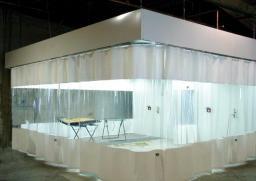 Прозрачные ПВХ шторы для летних кафе