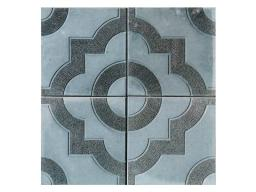 Дешевая тротуарная плитка для дачи Фантазия 300х300х30 (серая)