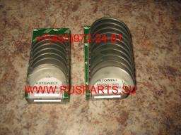 Вкладыши шатунные двигателя Komatsu 4D84/ 4D88