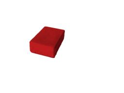 Тротуарная плитка для дачи БРУК ОДИНАРНЫЙ 180Х120Х60 (красная)