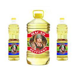 Масло подсолнечное рафинированное дезодорированное (ОПТ)