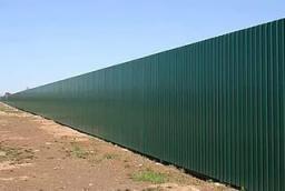 забор из профнастила опт