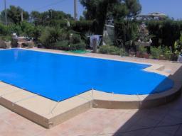 Тентовое накрытие для бассейна