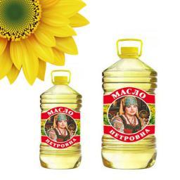Масло подсолнечное оптом (по России и на Экспорт)