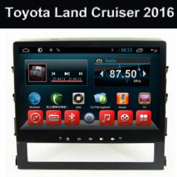 завод лучший gps навигатор Toyota Land Cruiser 2016 телевизор и радио Android