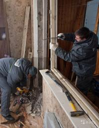 Демонтаж окон, дверей, дверных коробок Анапа