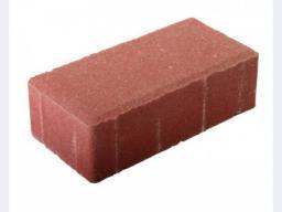 Тротуарная плитка 200х100х60 красная