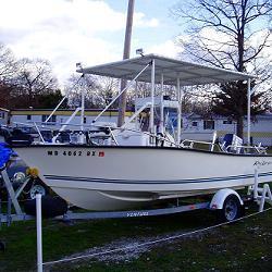 Ходовой, носовой тент на лодку или катер
