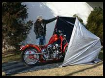 Чехлы, тенты, навесы для мотоцикла