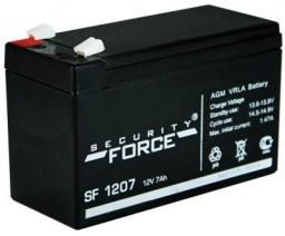 Аккумулятор 12в 7 а•ч (SF 1207)