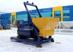 Двухвальный бетоносмеситель ZZBO БП-2Г-1200с