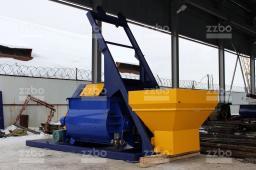 Двухвальный бетоносмеситель ZZBO БП-2Г-1500с