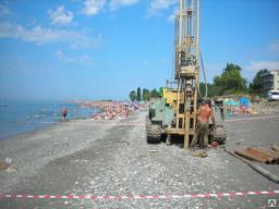 Инженерно-геологические изыскания. бурение, геолог, лаборатория