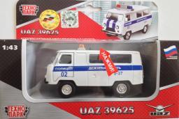 УАЗ 39625 Дежурная часть Полиция белая