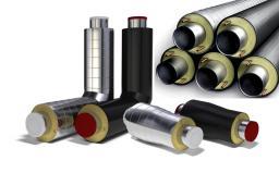 Труба и детали трубопроводов в ППУ изоляции