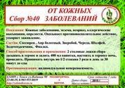 Сбор №40 ОТ КОЖНЫХ ЗАБОЛЕВАНИЙ