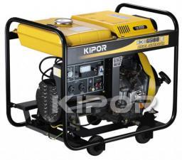 Дизель-генератор KIPOR KDE 6500 E (5 кВт)