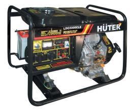 Дизель-генератор HUTER LDG5000CLE