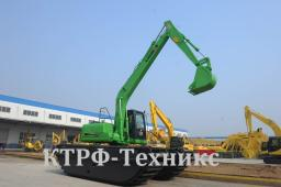 Экскаватор амфибия Lishide SC160SD, масса 21000 кг, ковш 0,45м3