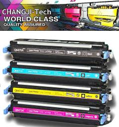 Комплект картриджей Q6470 – Q6473 (черный,желтый,красный,голубой) для принтеров HP Color LaserJet